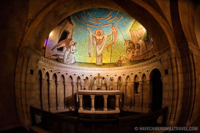 Washington National Cathedral Apse Mosaic by Philip Frohman Called Resurrection