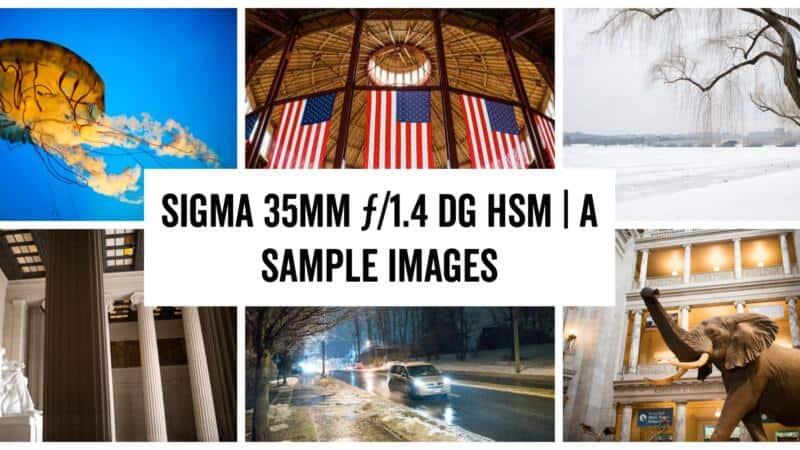 Sigma 35mm ƒ/1.8 DG HSM Art Lens Sample Images