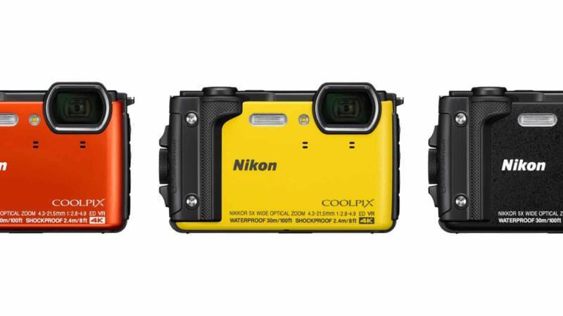 Nikon COOLPIX W300 header image