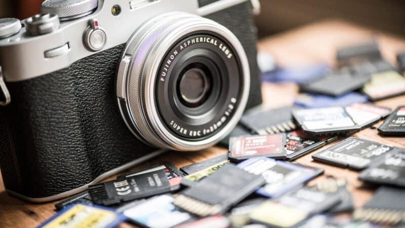 Fujifilm X100V Camera SD Memory Cards