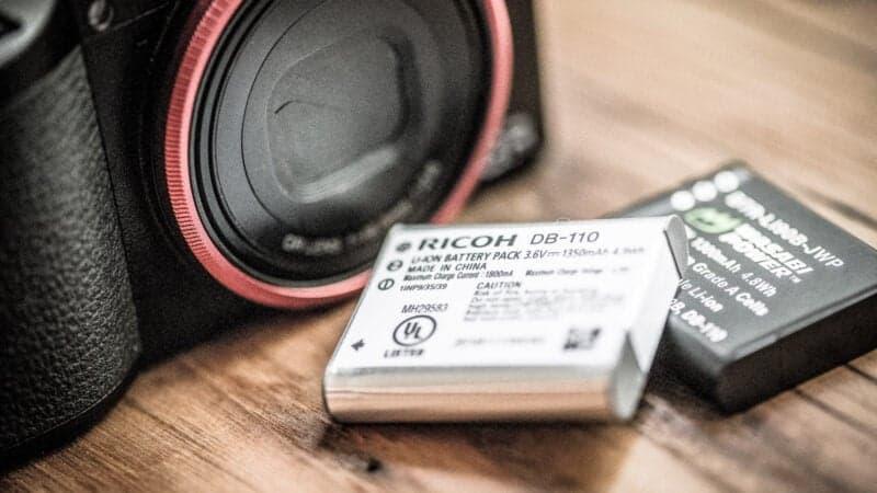 Ricoh GR III Batteries