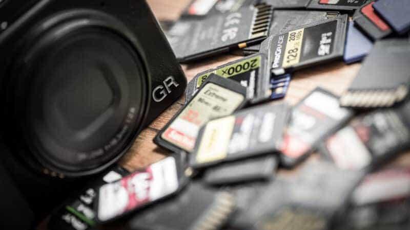 Ricoh GR III SD Memory Cards