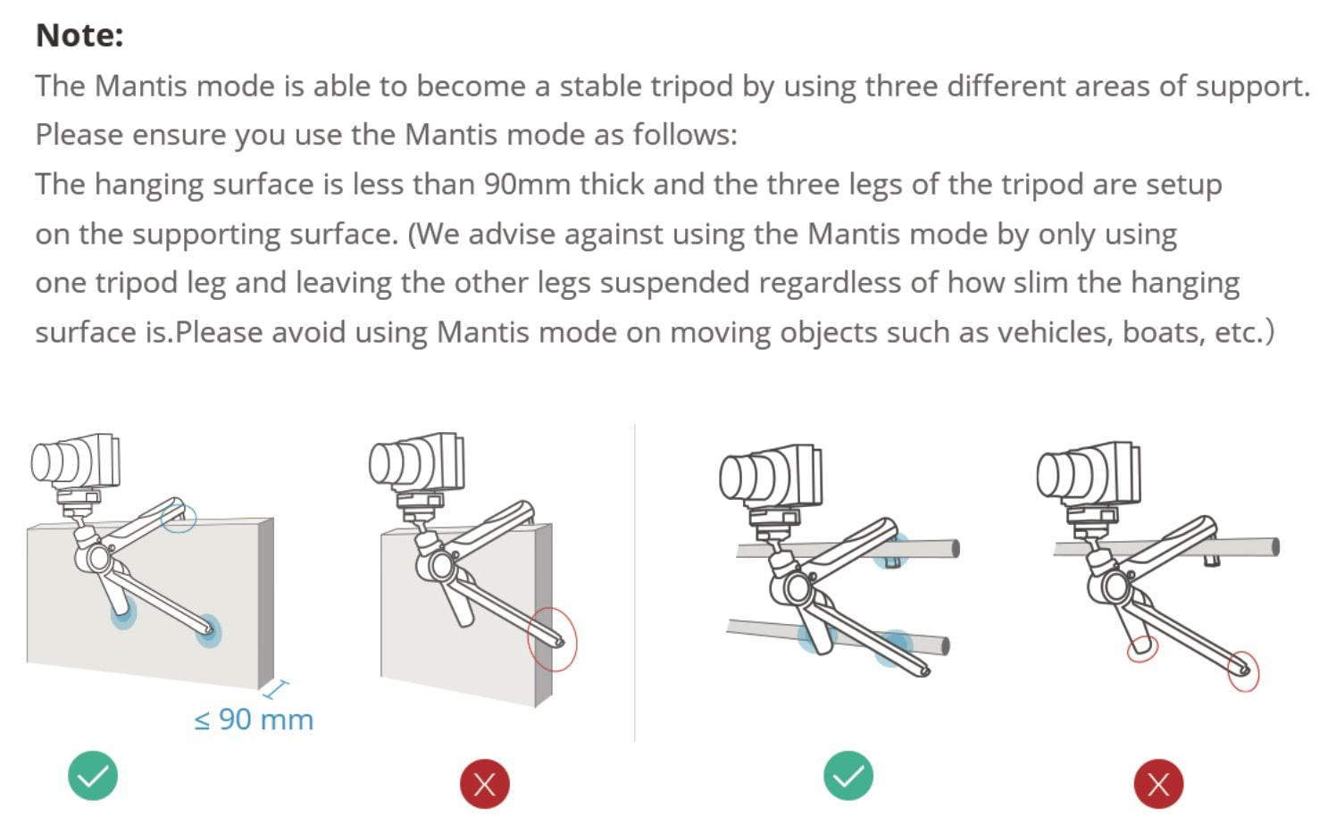 MantisPod Pro Mantis Mode Guide
