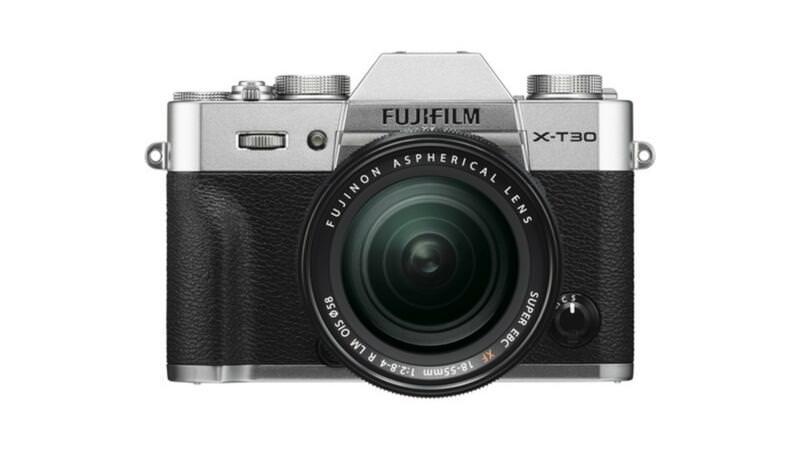 Fujifilm X-T30 Camera Front View