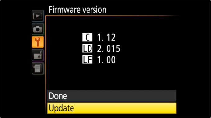 How to Update Nikon D3400 Firmware Version Update Option