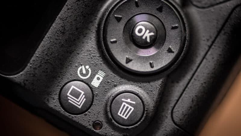 Nikon D3400 Self-Timer Button Continuous Photo Button