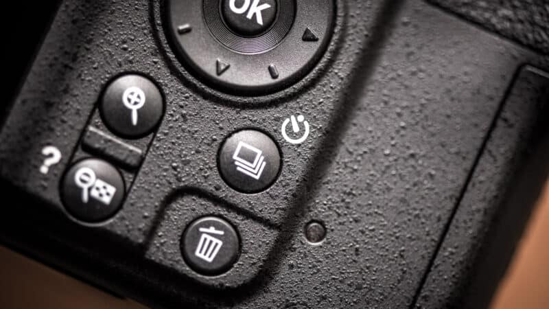 Nikon D3500 Self-Timer Continuous Shooting Release Mode Button